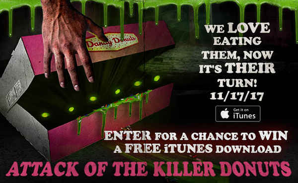 FREE iTUNES Download of ATTACK OF THE KILLER DONUTS! | UHM